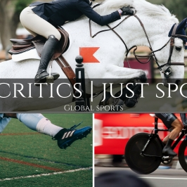 No critics just sports logo heading